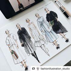 Dress Design Sketches, Fashion Design Sketchbook, Fashion Design Drawings, Fashion Model Sketch, Fashion Sketches, Fashion Drawing Tutorial, Fashion Illustration Tutorial, Fashion Illustration Dresses, Fashion Figures