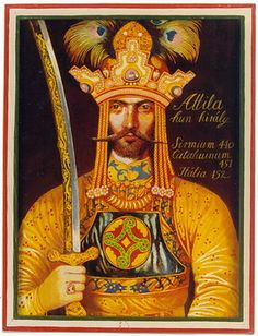 Attila The Hun , Hungary Hungary History, Attila The Hun, Heart Of Europe, Austro Hungarian, Ancient Symbols, Historical Images, Barbarian, Roman Empire, Art History