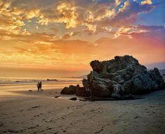 Pismo Beach, Cayucos Beach, California Sunset, Central California, Central Coast, San Luis Obispo County, Celestial, Water, Outdoor