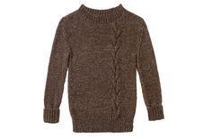 Strickmuster: Pullover mit Zopfmuster stricken - BRIGITTE
