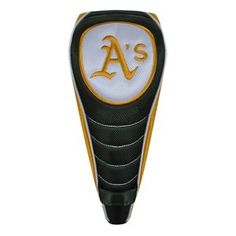 McArthur Sports MLB Shaft Gripper Golf Driver Headcover - Oakland Athletics