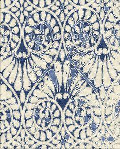 Tapestry Collection - ANOUK - Indigo by Robin Gray Design LLC. ANOUK indigo…