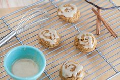 Pumpkin Spice Cookies with Vanilla Cinnamon Icing - Against All Grain - Award Winning Gluten Free Paleo Recipes to Eat Well & Feel Great