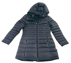 Calvin Klein Women's Packable Quilted Down Puffer Coat, Titanium, X-Small >>> You can find out more details at the link of the image. #WomensCoatsJacketsVests