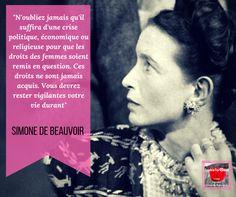 Citation de Simone de Beauvoir