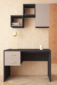 HomeLane: Full Home Interior Design Solutions, Get Instant Quotes. Cozy Corner, Corner Desk, Study Tables, Organize Your Life, Home Interior Design, Living Spaces, Minimalist, The Unit, House Design
