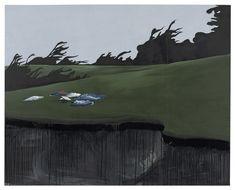 Wilhelm Sasnal, Clothes, 2009, Oil on canvas, 160 x 220 x 2 cm
