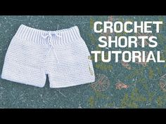 Best 12 Crochet Shorts tutorial After I made the ribbing for the hips Sc around 105 and increase in each row until I reached 150 hdc around. Also, if you just want to check out how I got started on the crotch leg part skip to 708 ♡♡♡♡♡♡ I hope yo Crochet Shorts Pattern, Crochet Bra, Crochet Halter Tops, Crochet Skirts, Crochet Woman, Cotton Crochet, Crochet Clothes, Como Fazer Short, Short Tejidos