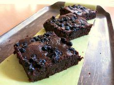 Fotorecept: Čučoriedkové brownies