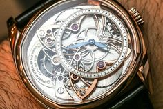 Andreas Strehler Papillon d'Or Watch