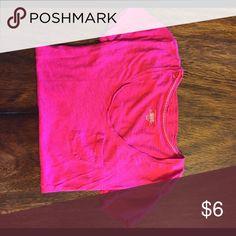 VS T Shirt Has been worn, decent condition; Victoria's Secret Tops Tees - Short Sleeve