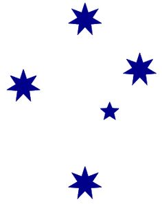 Southern Cross (constellation only visible from the Southern Hemisphere)