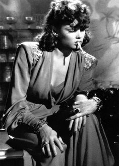 Gene Tierney in The Shanghai Gesture (1941)