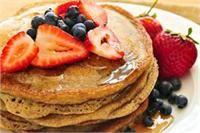 This buckwheat pancake mix makes light and fluffy whole grain pancakes.
