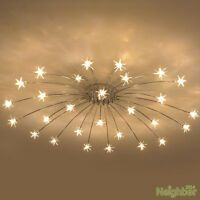 Modern Meteor Glass Dandelion LED Chandelier Pendant Lamp Ceiling Lighting Light 1 X Ceiling Lamp. after you have paid. Local pick up is not available. Weight: 4000 g. Bedroom Lighting, Home Lighting, Bedroom Ceiling Lights, Light Bedroom, Kids Lighting, Lighting Sale, Deco Led, Ceiling Chandelier, Ceiling Lighting