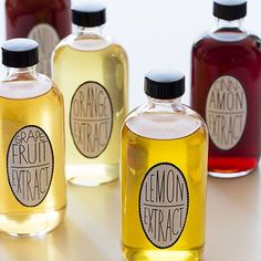 Housewarming Gift Idea: Homemade Extracts