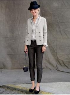 Fall look from Banana Republic