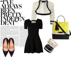 """""""LBD goes to work!"""" by shubhangi90 on Polyvore"""