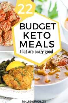 Keto food isn't known for being the most budget-friendly but there are ways to eat keto on a budget! Here are the top 10 ways to save money on the keto diet, plus 22 cheap keto meals that are insanely good! Easy Cheap Dinner Recipes, Low Carb Dinner Recipes, Dinner Recipes For Kids, Cheap Meals, Keto Recipes, Frugal Meals, Budget Meals, Budget Recipes, Easy Meals
