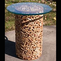 Wine Cork Bistro Table
