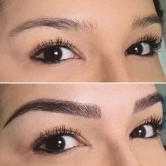 Pin By Barbara Hall On Microblading In 2019 Eyebrows – Images Gallery Mircoblading Eyebrows, Eyebrows Goals, Sparse Eyebrows, Tweezing Eyebrows, Threading Eyebrows, Eyeliner, Eye Brows, Eyebrow Makeup Tips, Hair And Beauty