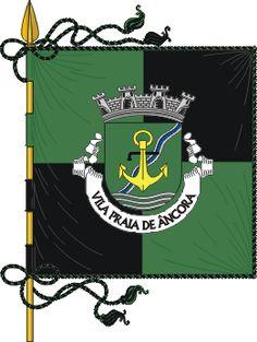 Bandeira de Vila Praia de Âncora