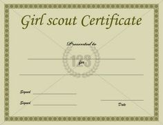 School Certificate Archives - Page 3 of 3 - Free & Premium 123 Certificate Templates Printable Certificates, Award Certificates, Certificate Templates, School Certificate, Girl Scout Crafts, Girl Scouts, Printables, Scouting, Templates Free