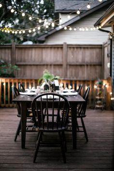 Luci da esterno: American garden style.