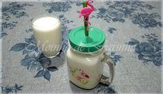 Moinho De Farinha: Batido de banana c/iogurte
