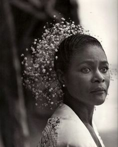 """I say that if each person in this world will simply take a small piece of this huge thing, this tablecloth, bedspread, whatever and work it regardless of the color of the yarn, we will have harmony on this planet."""" - Cicely Tyson, I Dream A World"""