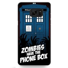Zombie Have The Phone Box Tardis TATUM-12224 Samsung Phonecase Cover For Samsung Galaxy Note 7