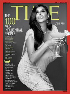"""tkyle: """" TIME's 100 Most Influential People 2014 """" Big Ang Mob Wives, Janet Yellen, Influential People, Reality Tv Shows, Steve Mcqueen, Pope Francis, Boss Lady, Favorite Tv Shows, Cool Girl"""