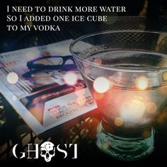 vodkaghost👻🍸 #GhostVodka  #ghost #vodka #skull #bottle #drinks #drinkstagram #cocktails #martini #mixology #bottleservice #bottlesondeck #worldwaterday #drinkstraight #icecube #drinkneat #bokeh