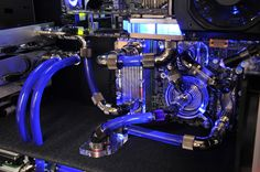 computer external liquid cooling - Google Search