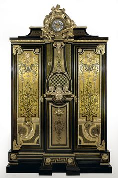 Wardrobe (armoire), André-Charles Boulle, 1715