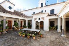 Ejemplo de patio cortijo andaluz