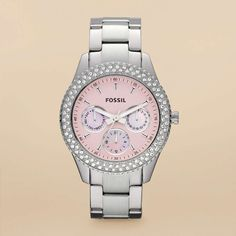 FOSSIL® Watch Collections Stella Watches:Women Stella Stainless Steel Watch