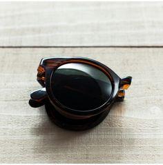 Samoa Dark Tortoise Sunglasses by Sunpocket