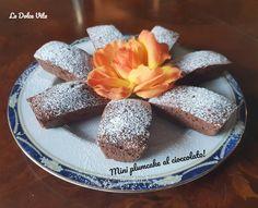 Mini plumcake al cioccolato sofficissimi! Pudding, Cheese, Baking, Mini, Desserts, Recipes, Food, Bread Making, Tailgate Desserts