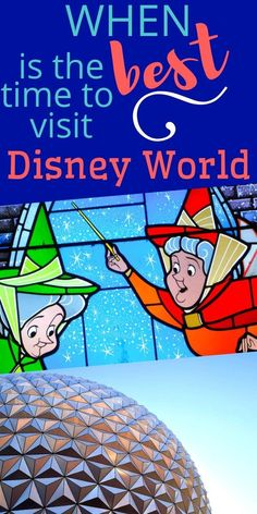 When is the best time to book a #Disney vacation based on cheapest price, lowest crowd levels, or the best events at Disney World | Disney Vacation Tips | Disney Trip Hacks | Visit Walt Disney World | Disney Planning