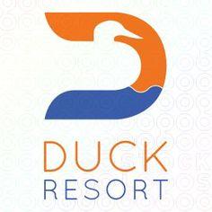 Duck Resort logo #LOGO #DESIGN #DUCK #D