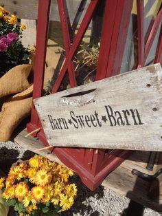 Grey Barn Farm vignette at Sept 22, 2012 wedding