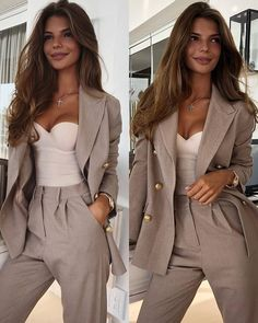 New Year's Classy Outfits past Bulk Women's Clothing For Sale beyond Women's Clothing Stores Around Me all Womens Clothes Catalogues Classy Outfits For Women, Girly Outfits, Office Outfits, Clothes For Women, Office Wardrobe, Classy Women, Capsule Wardrobe, Fashion Mode, Work Fashion