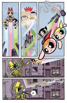 The Powerpuff Girls #1 Preview IDW page 7
