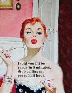 Vintage Funny Quotes, Vintage Humor, Retro Vintage, Vintage Prints, Vintage Women Quotes, Sassy Quotes, Sarcastic Quotes, Qoutes, Pulp
