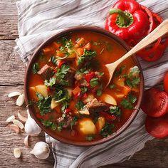 Lekker recept gevonden: Hongaarse goulashsoep