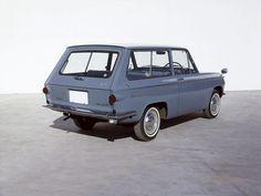 blaaargh:  1963Mazda Familia 800 Van