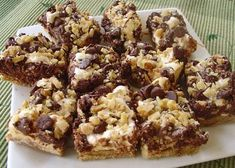 GRAHAM CRACKER SMORES BARS. I don't use coconut.. but I do add chocolate chips. THIS IS THE BEST DESSERT EVER.