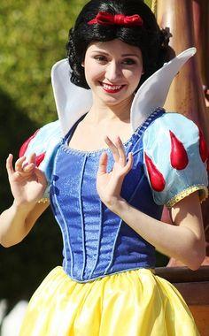 Snow White at Disneyland