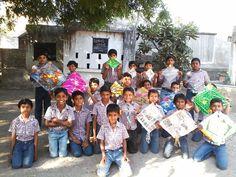 Kite festival in our school